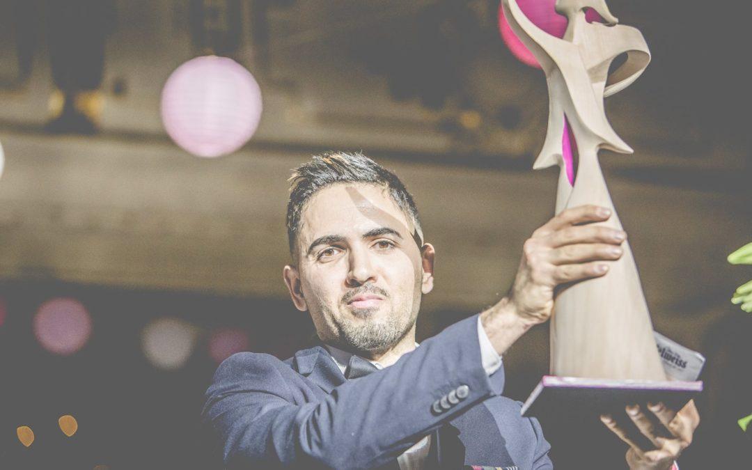 Adam H. war Preisträger der Goldenen Panthera 2017