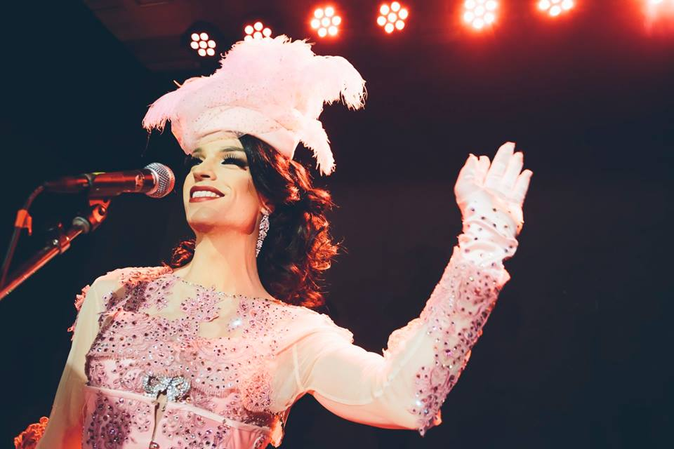Drag Queen Tamara Mascara am Tuntenball 2015. (c) Marija Kanizaj